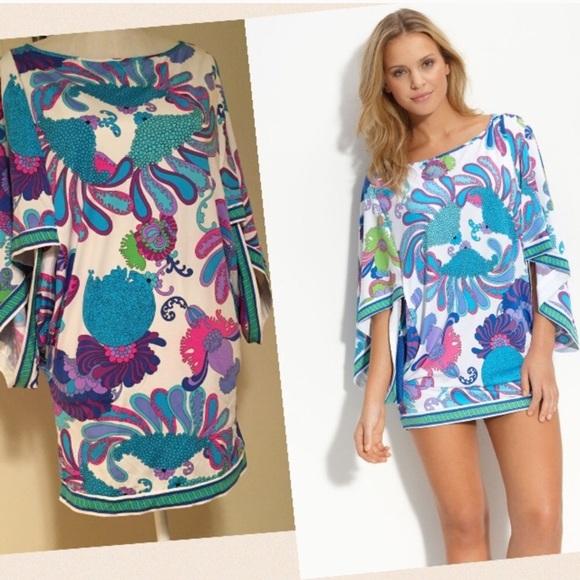 13a8c9bd08deb Trina Turk Sea Caprice kimono style swim cover up.  M 5b4768c5c2e9feb8d064fbd6